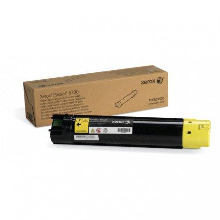 Xerox 106R01505 (106R1505) Yellow OEM Laser Toner Cartridge