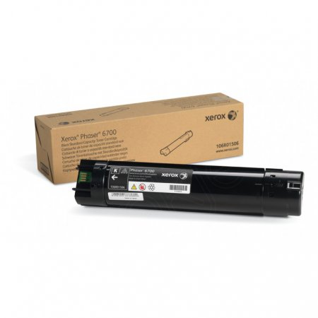 Xerox 106R01506 (106R1506) Black OEM Laser Toner Cartridge