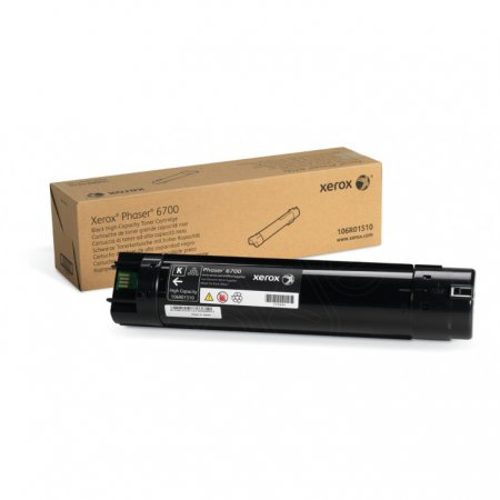 Xerox 106R01510 (106R1510) HY Black OEM Toner Cartridge