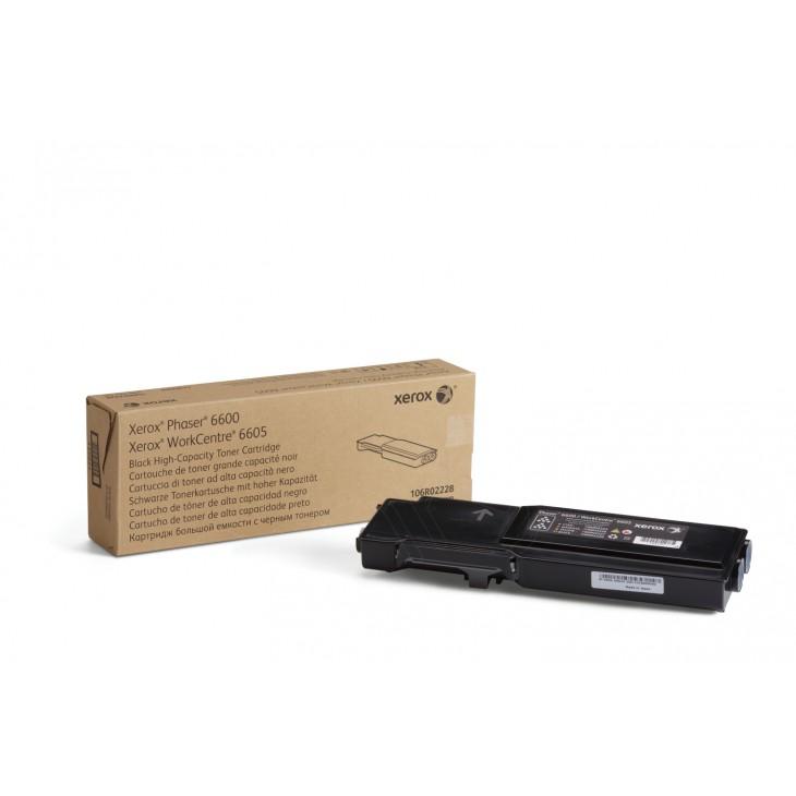 Xerox 106R02228 (106R2228) HY Black OEM Toner Cartridge