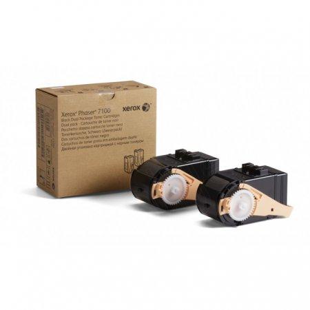 Xerox 106R02605 Black OEM Laser Toner Cartridge 2-Pack