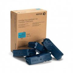 Xerox 108R00829 Cyan OEM Solid Ink ColorStix 4-Pack