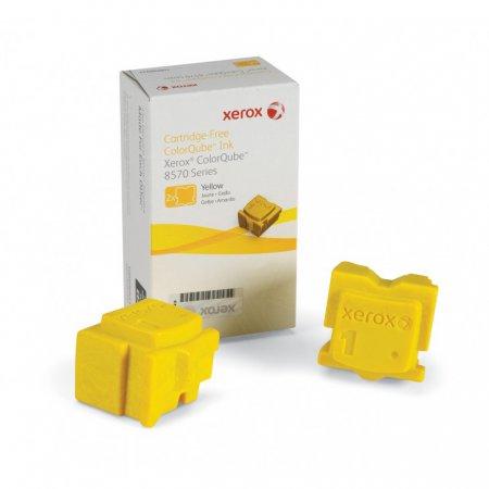 Xerox 108R00928 (108R928) Yellow OEM Solid Ink ColorStix 2PK