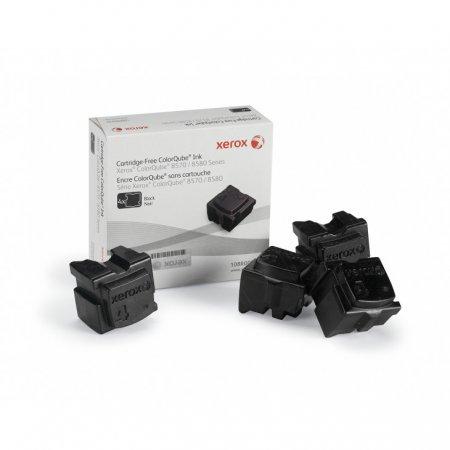 Xerox 108R00930 (108R930) Black OEM Solid Ink ColorStix 4PK