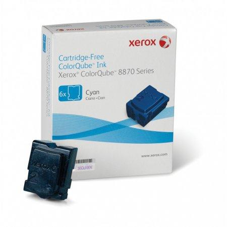 Xerox 108R00950 (108R950) Cyan OEM Solid Ink ColorStix 6-Pack