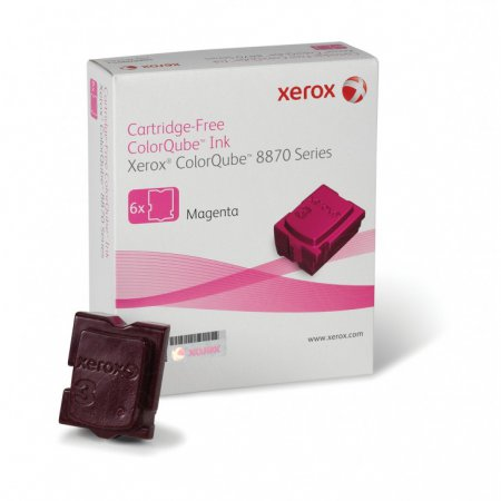 Xerox 108R00951 (108R951) Magenta OEM Solid Ink ColorStix 6PK