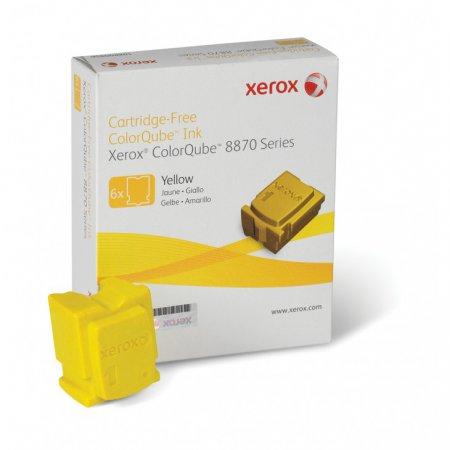 Xerox 108R00952 (108R952) Yellow OEM Solid Ink ColorStix 6PK