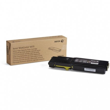 Xerox Original 106R02746 High Capacity Yellow Toner