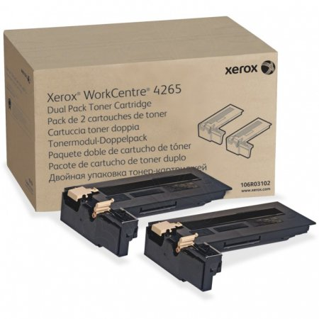 Xerox Original 106R03102 High Capacity Black Toner (2 Pack)